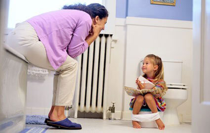 Toilet Training from a Sensory Perspective